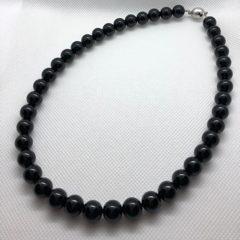 天然石ネックレスの珠(たま)足し After